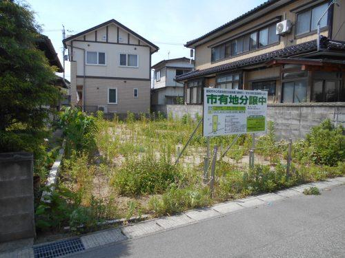 家中新町3番土地(参考プラン付)